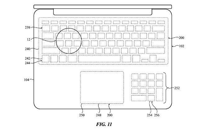 apple virtuelle tastatur