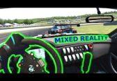 Lenkrad, Greenscreen und Oculus Rift: Mixed Reality vom feinsten