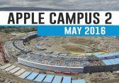 Mit der 4K-Drohne über die Apple Campus Baustelle [Mai 2016]