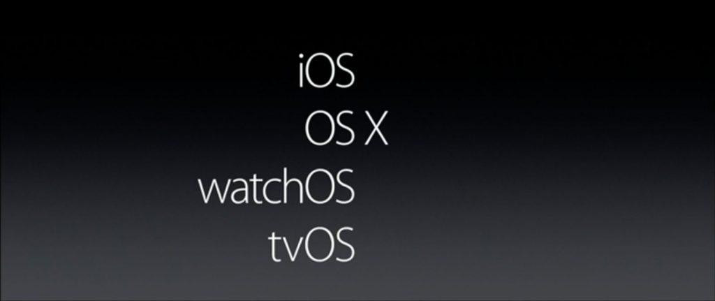 Appe WWDC16 OS X
