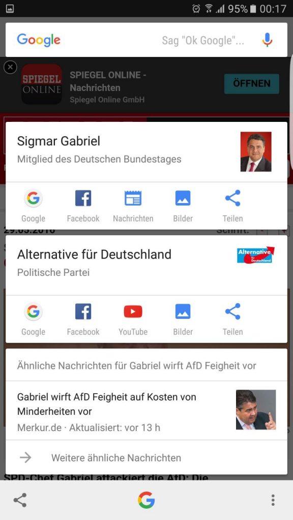 Google Now on Tap Screenshot News