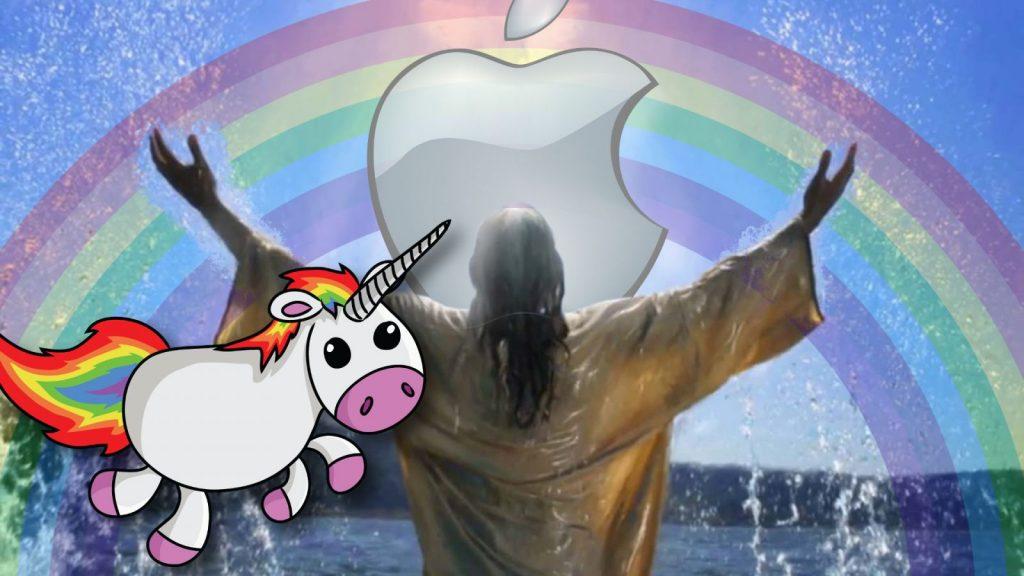 Credo des Tages: Fremdschämen mit Apple
