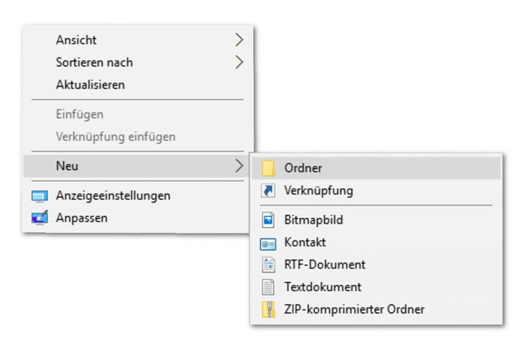 Windows 10 hintergrundbilder ordner