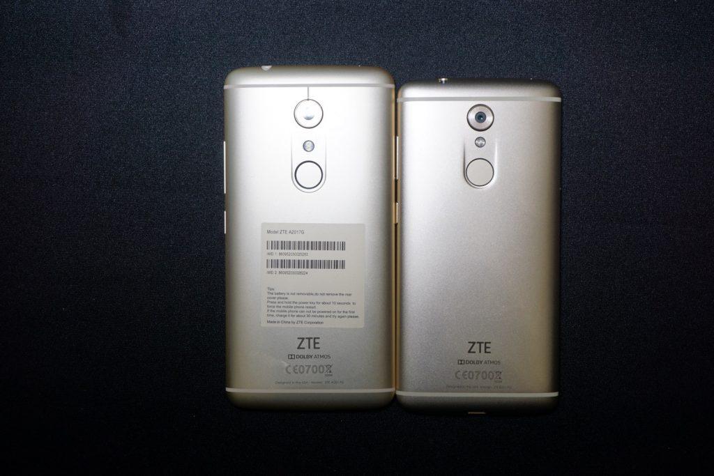 ZTE Axon 7 vs Axon 7 mini im Vergleich 3