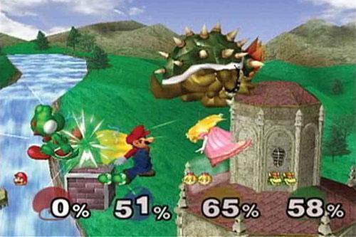 super smash bros screenshot