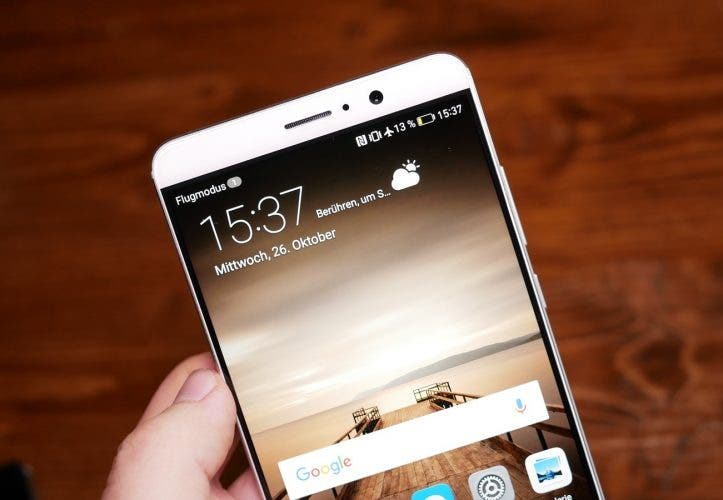 Huawei Mate 9 Hands On Display
