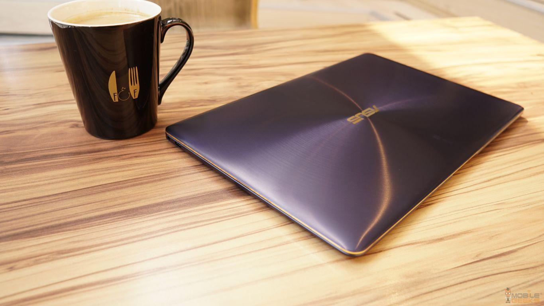 ASUS Zenbook 3 Deluxe von oben