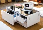 Sobro Couchtisch für's digitale Smart Home