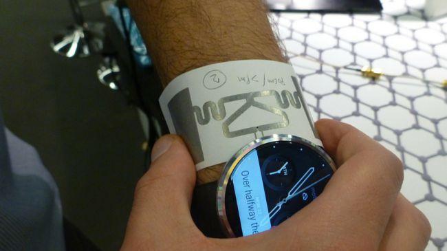 Graphen-Armband