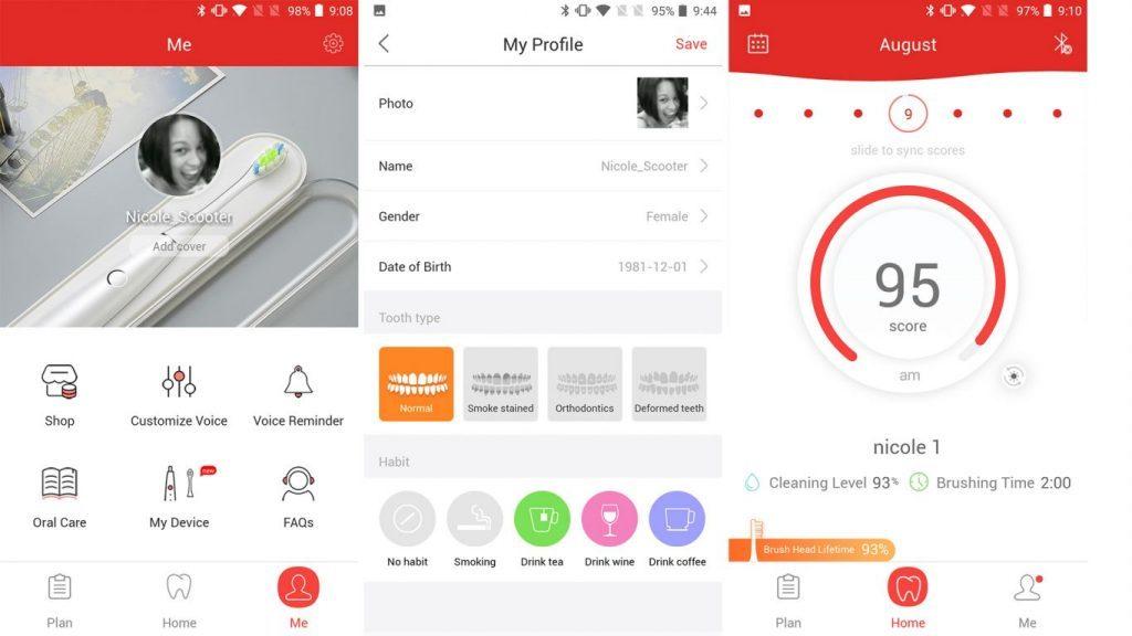 Oclean One Software - Smartphone-App