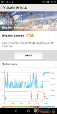 Honor 7X Sling Shot Extreme Benchmark