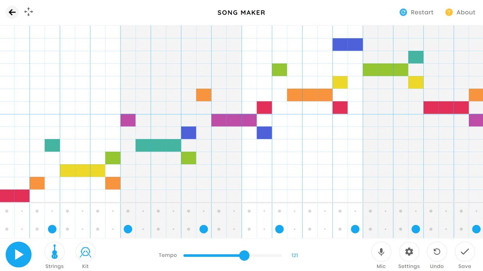 Chrome Music Lab: Spielerisch musizieren mit dem neuen Song