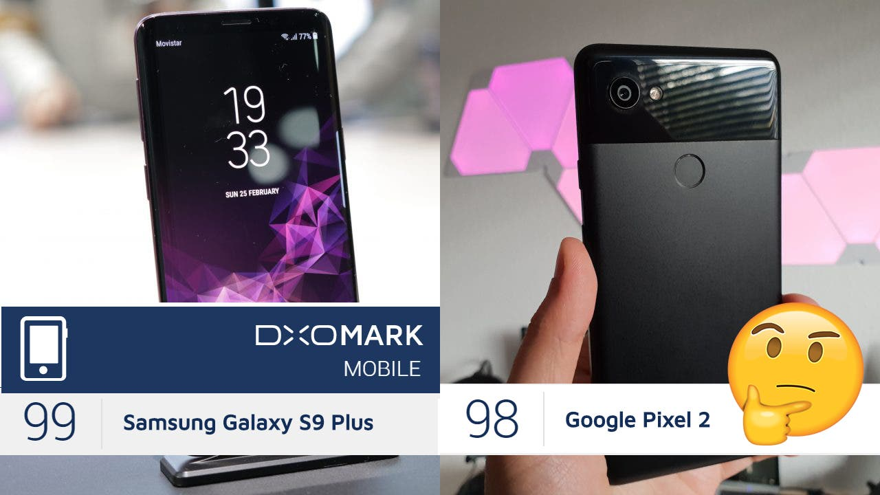 DxOMark - Samsung Galaxy S9 Plus und Google Pixel 2 XL