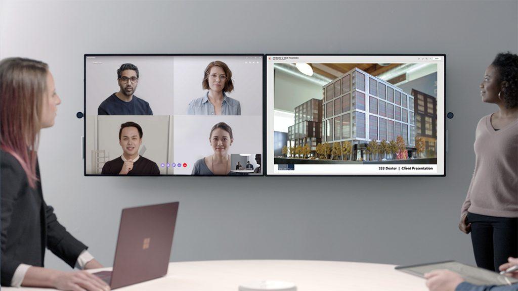 Surface Hub 2 - Wandmontage
