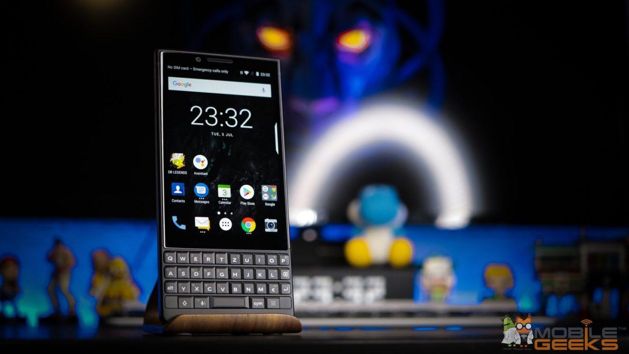 BlackBerry KEY2 test
