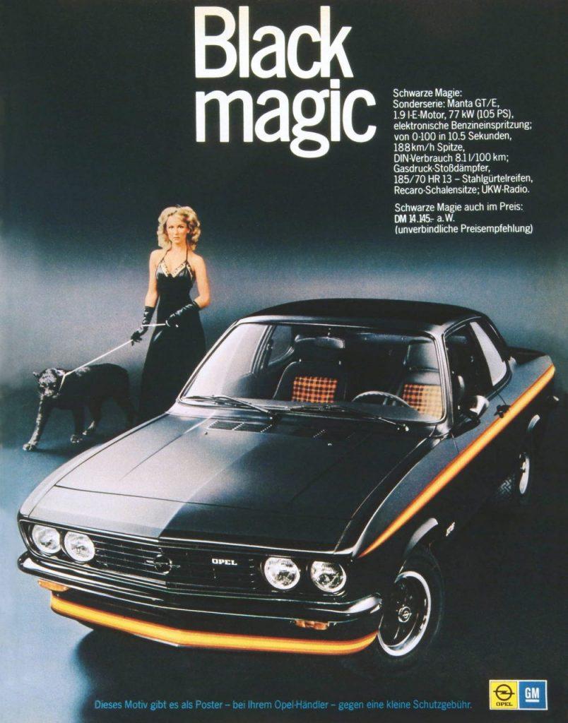 Opel Manta Black Edition