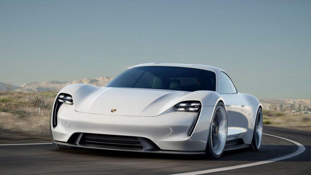 Porsche Taycan Pressefoto