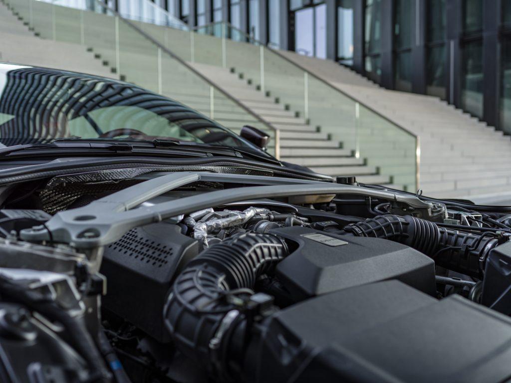 V8 Motor des Aston Martin DB11