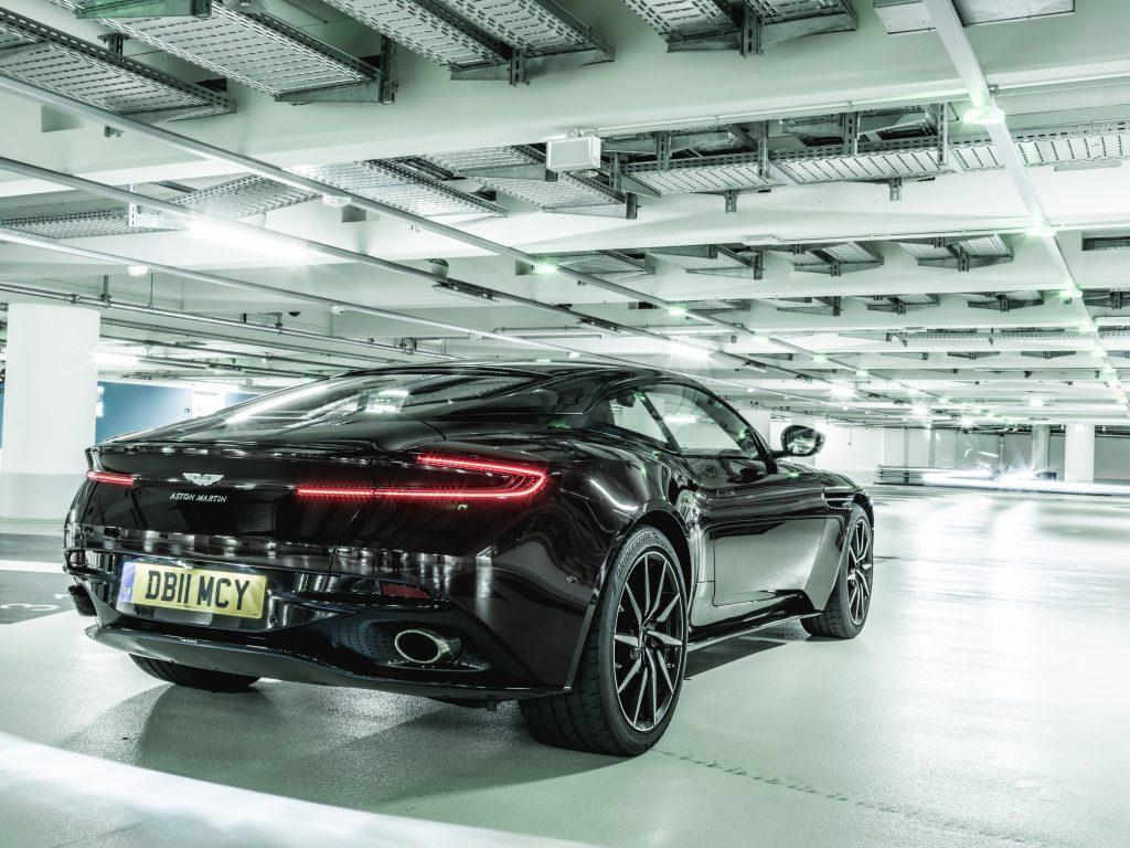 Aston Martin DB11 Rückansicht