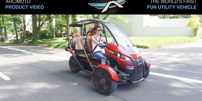 Acrimoto startet Beta-Test für dreirädrige Elektroautos