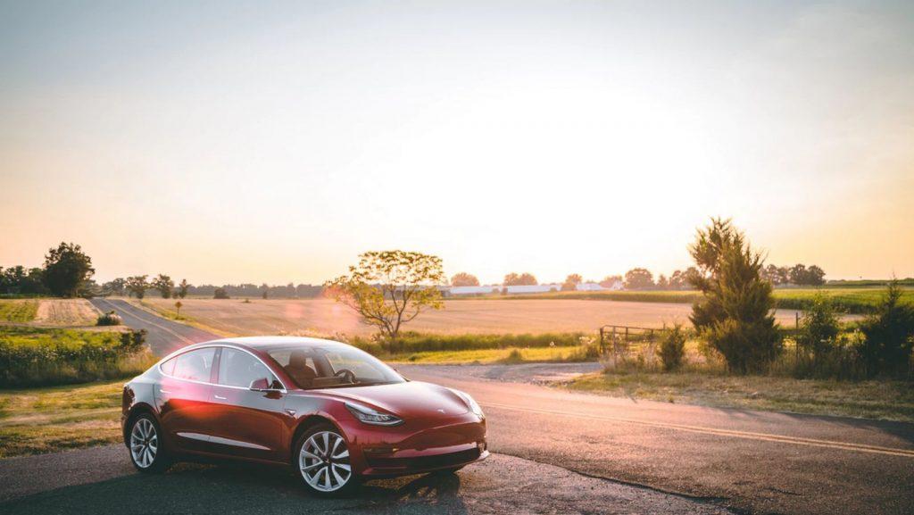 Tesla Model 3 by Vlad Tchompalov