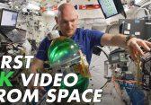 NASA veröffentlicht erstes 8K Video von der ISS