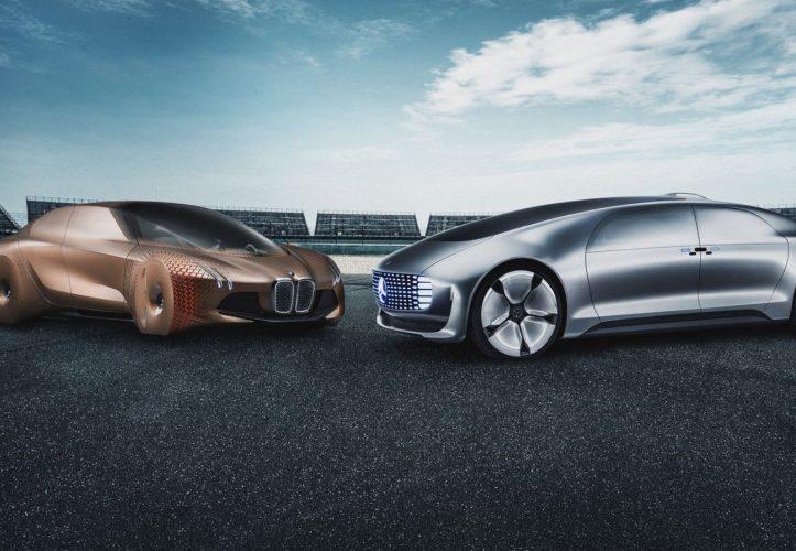 BMW und Daimler wollen bei der Entwicklung von Fahrassistenzsystemen - v.a. für autonomes Fahren - zusammenarbeiten (Quelle: BMW).