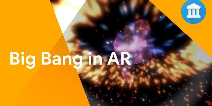 Der Urknall als AR-Erfahrung – Google und Cern bringen neue App