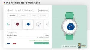 Withings Move Fittness-Uhr HealthMate App