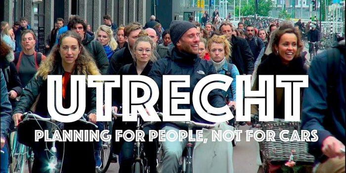 Utrecht: Erst kommen Fahrräder und Menschen, dann das Auto