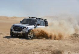 Land Rover Defender Premiere auf der IAA