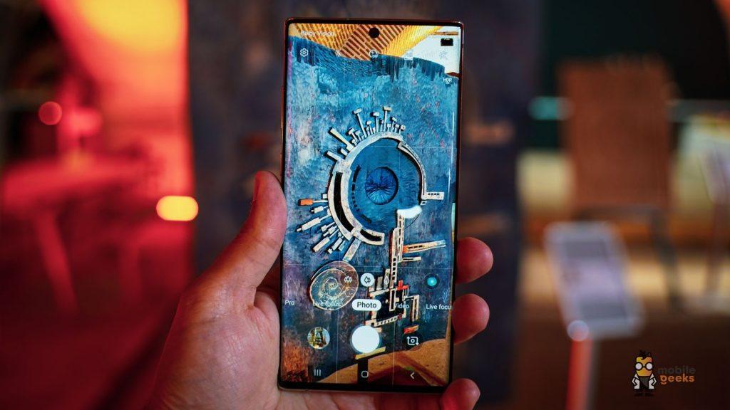 Journée de test Samsung Galaxy Note 10 Plus dans la vie Mobilegeeks