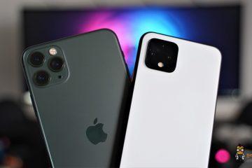Google Pixel 4 und iPhone 11 Pro im direkten Kameravergleich