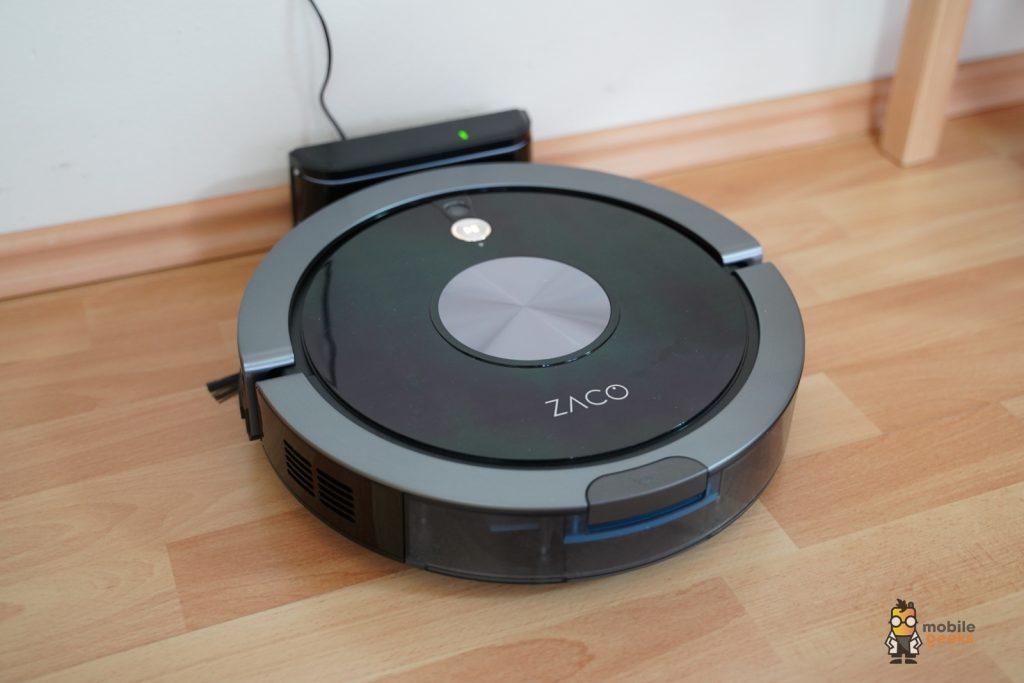 Zaco A9S Staubsauger-Roboter StaubsaugerroboterTest Mobilegeeks