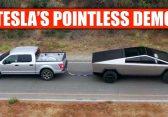 Cybertruck vs Ford F-150: Dieses Video rückt Teslas PR-Stunt zurecht
