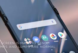 "Faltbares Motorola Razr: ""Beulen im Display sind völlig normal"""