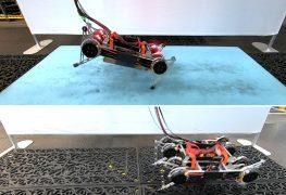 Roboter von Google erlernt ohne menschliche Unterstützung das Laufen