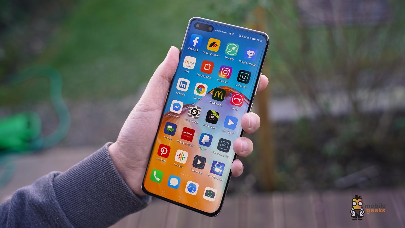 Huawei P40 / Pro: Beliebte Apps installieren ohne Google Play Store