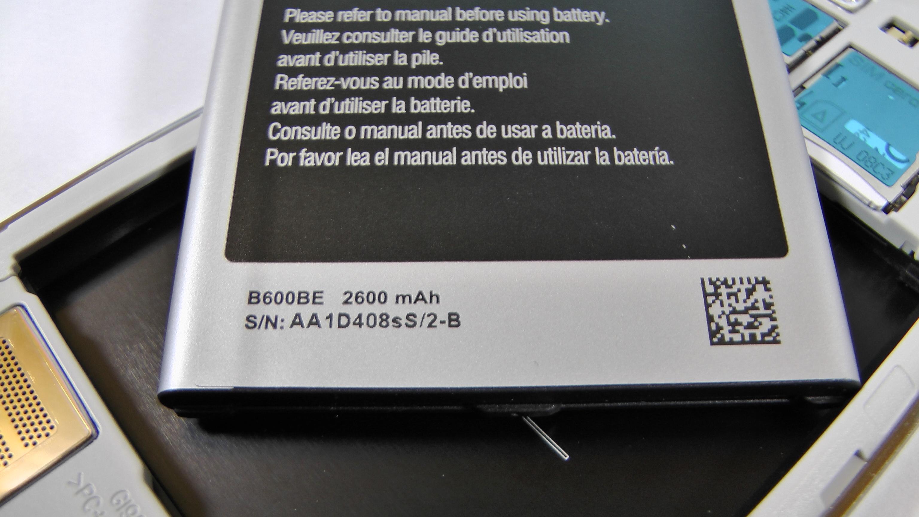 Samsung Galaxy S4 Test Hardware 1