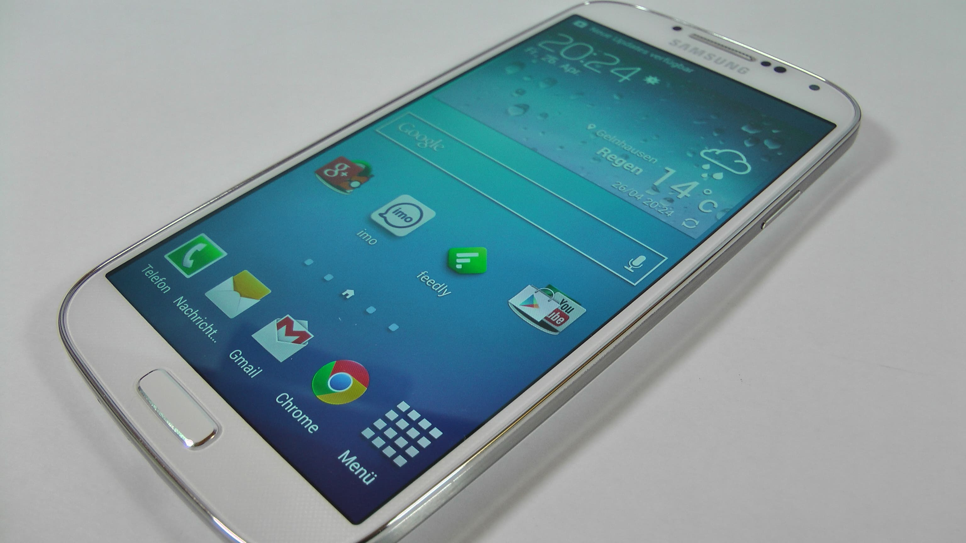 Samsung Galaxy S4 Test – Update