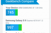 Samsung Galaxy Xcover 2 Test Benchmarks 12 170x110 Samsung Galaxy Xcover 2 Test: Outdoor Phone mit kurzem Atem
