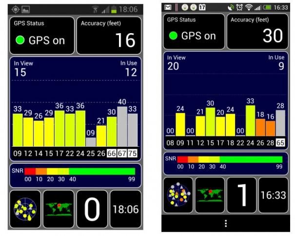 Samsung Galaxy Xcover 2 Test GPS 605x484 Samsung Galaxy Xcover 2 Test: Outdoor Phone mit kurzem Atem