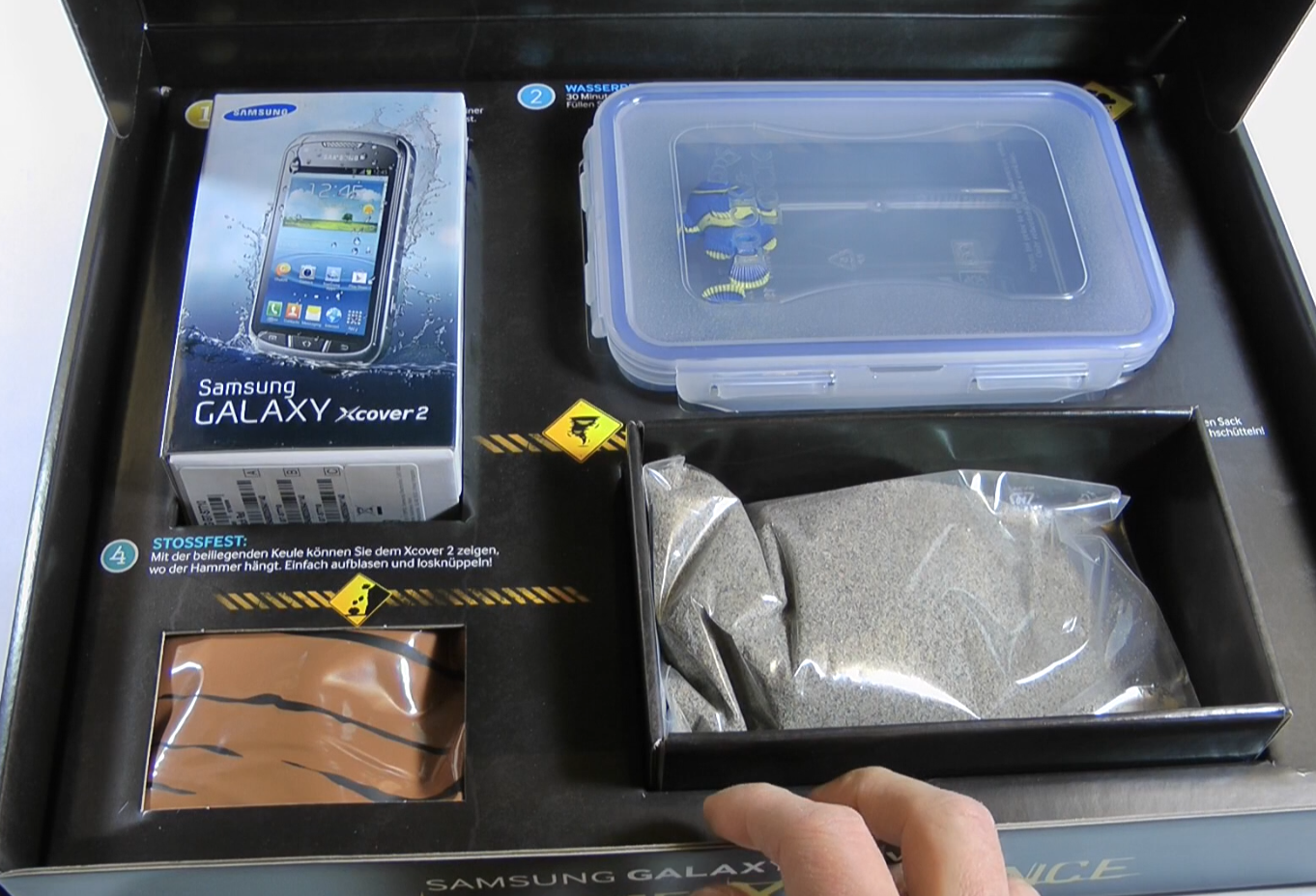 Xcover 2 – Samsungs neuer Outdoor-Androide im Unboxing und Tauchtest