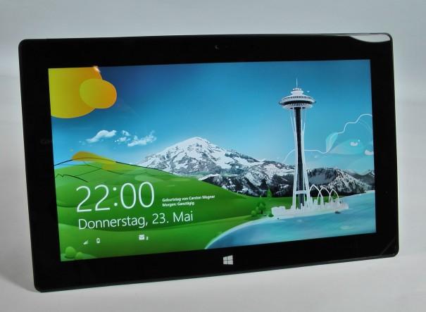 Microsoft Surface Pro Test 40 605x443 Microsoft Surface Pro im Test