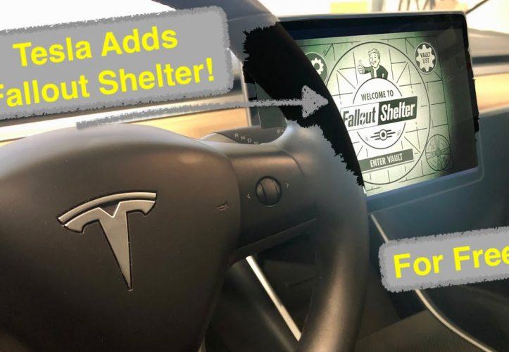 Tesla: Fallout Shelter jetzt im Auto spielen