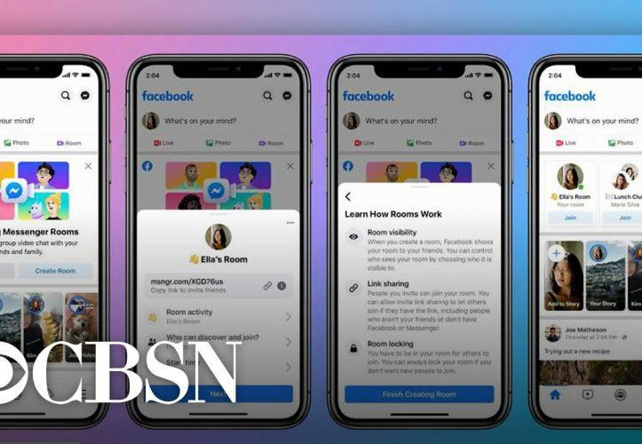 Facebook Messenger Rooms offiziell gestartet
