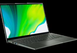 Acer Swift 5: Neuauflage setzt als erstes Notebook auf Tiger Lake-Prozessor