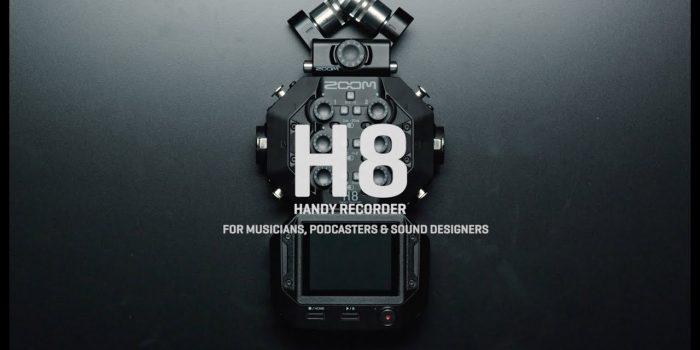 Zoom H8 – Field Recorder mit 12 Spuren und Apps