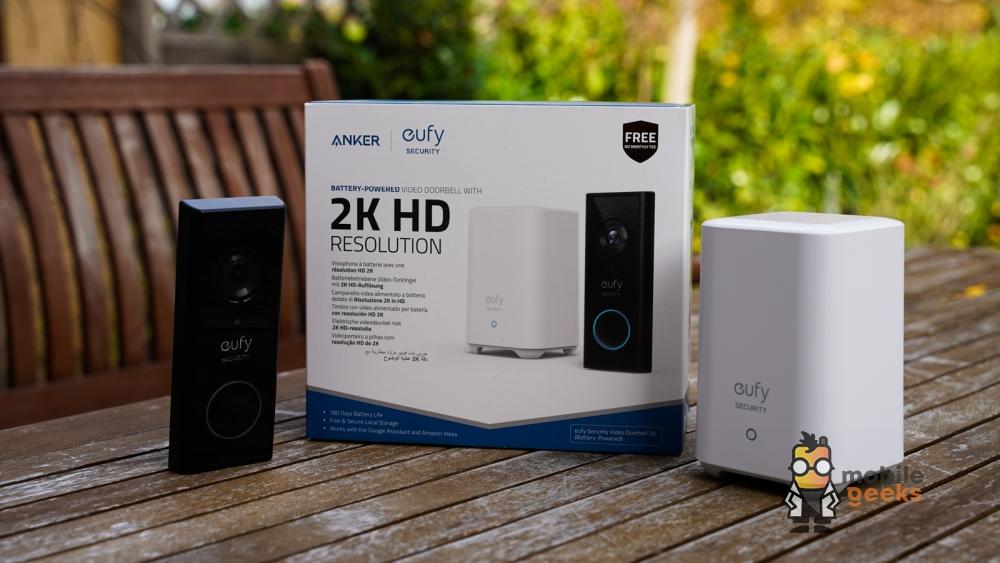 Eufy Doorbell 2K HD Türklingel Test Mobilegeeks