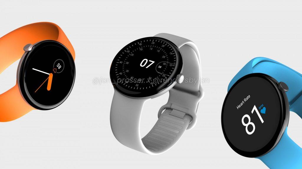 Google Pixel Watch Render